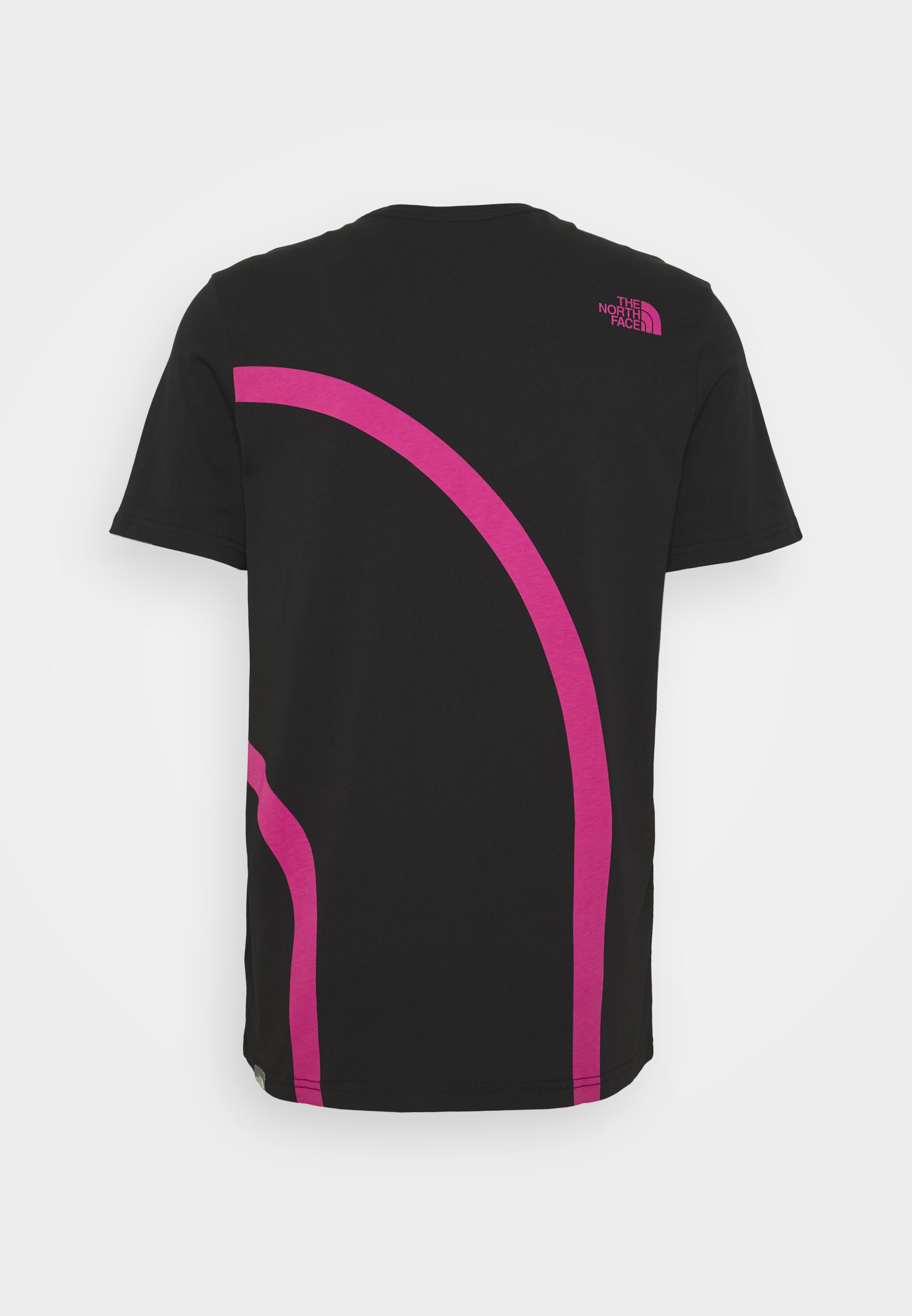 The North Face GRAPHIC FLOW T shirts med print black