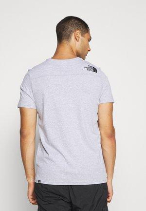 LIGHT TEE - Print T-shirt - light grey heather