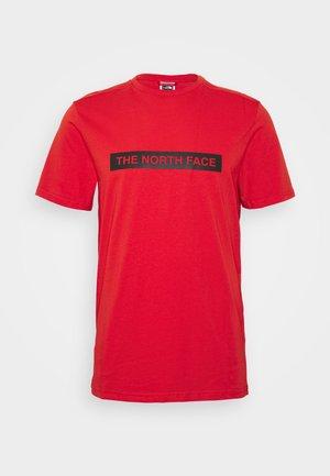 LIGHT TEE - T-shirt print - fiery red