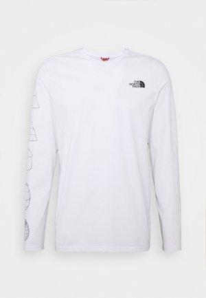 GEODOME TEE  - Langærmede T-shirts - white