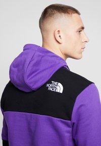 The North Face - HIMALAYAN HOODIE - Hættetrøjer - hero purple/black - 3