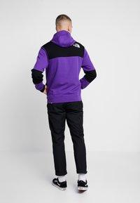 The North Face - HIMALAYAN HOODIE - Hættetrøjer - hero purple/black - 2
