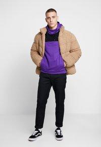 The North Face - HIMALAYAN HOODIE - Hættetrøjer - hero purple/black - 1