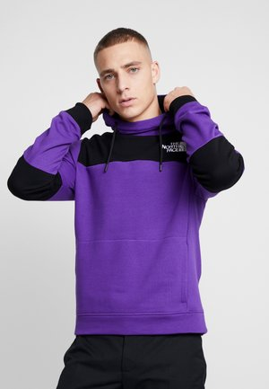 HIMALAYAN HOODIE - Bluza z kapturem - hero purple/black