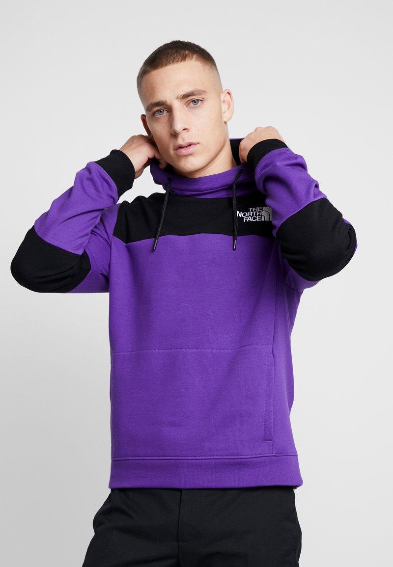 The North Face - HIMALAYAN HOODIE - Hættetrøjer - hero purple/black