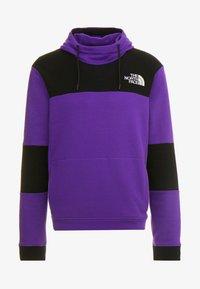 The North Face - HIMALAYAN HOODIE - Hættetrøjer - hero purple/black - 4