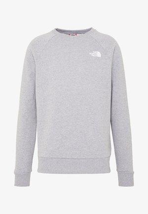 RAGLAN BOX CREW - Sweatshirt - light grey
