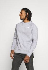 The North Face - RAGLAN BOX CREW - Sweater - light grey - 0