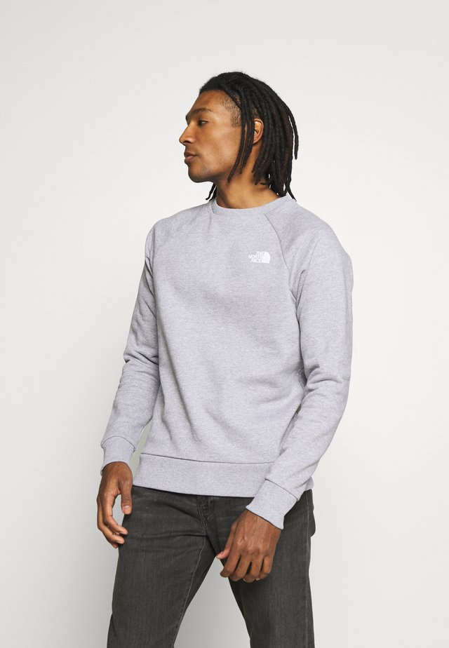 RAGLAN BOX CREW - Sweatshirt - light grey
