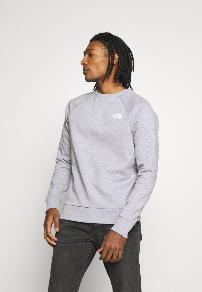 The North Face - RAGLAN BOX CREW - Sweater - light grey