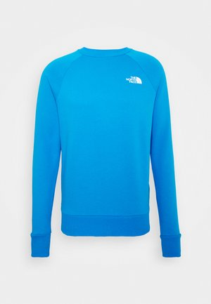 RAGLAN BOX CREW - Sweatshirt - clear lake blue