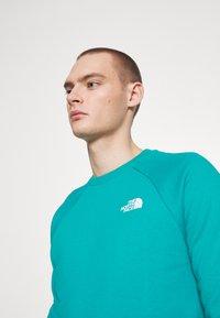 The North Face - RAGLAN BOX CREW - Sweatshirt - jaiden green - 3