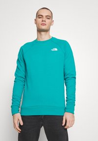 The North Face - RAGLAN BOX CREW - Sweatshirt - jaiden green - 2