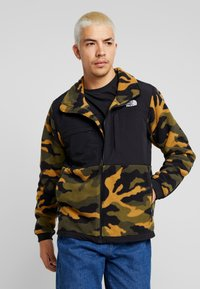 The North Face - DENALI JACKET  - Fleecejas - burntolive - 0