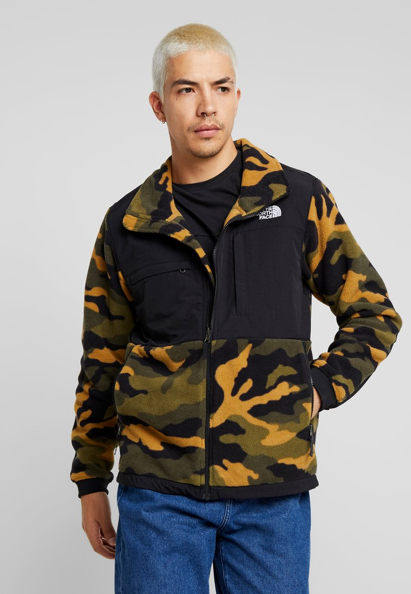 The North Face - DENALI JACKET  - Fleecejas - burntolive