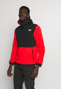 The North Face - DENALI ANORAK - Jersey con capucha - fiery red - 0