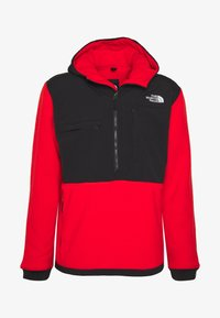 The North Face - DENALI ANORAK - Jersey con capucha - fiery red