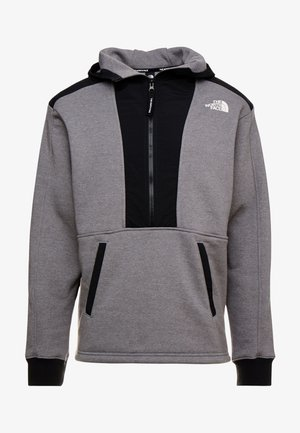 GRAPHIC HOOD - Hoodie - medium grey heather