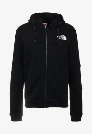 HIMALAYAN FULLZIP - veste en sweat zippée - black