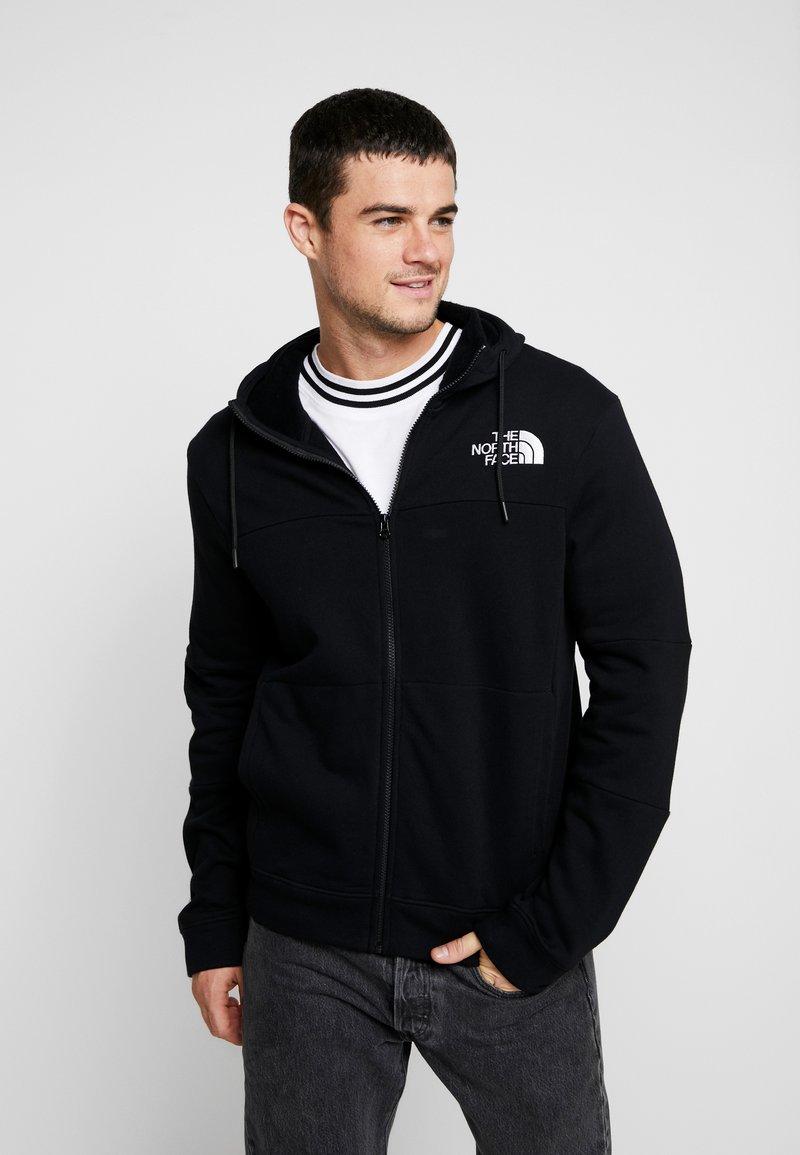 The North Face - HIMALAYAN FULLZIP - veste en sweat zippée - black