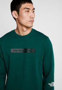 The North Face - LIGHT CREW - Sweatshirt - night green - 4