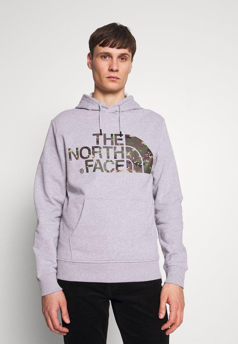 The North Face - STANDARD HOODIE - Huppari - light grey heather