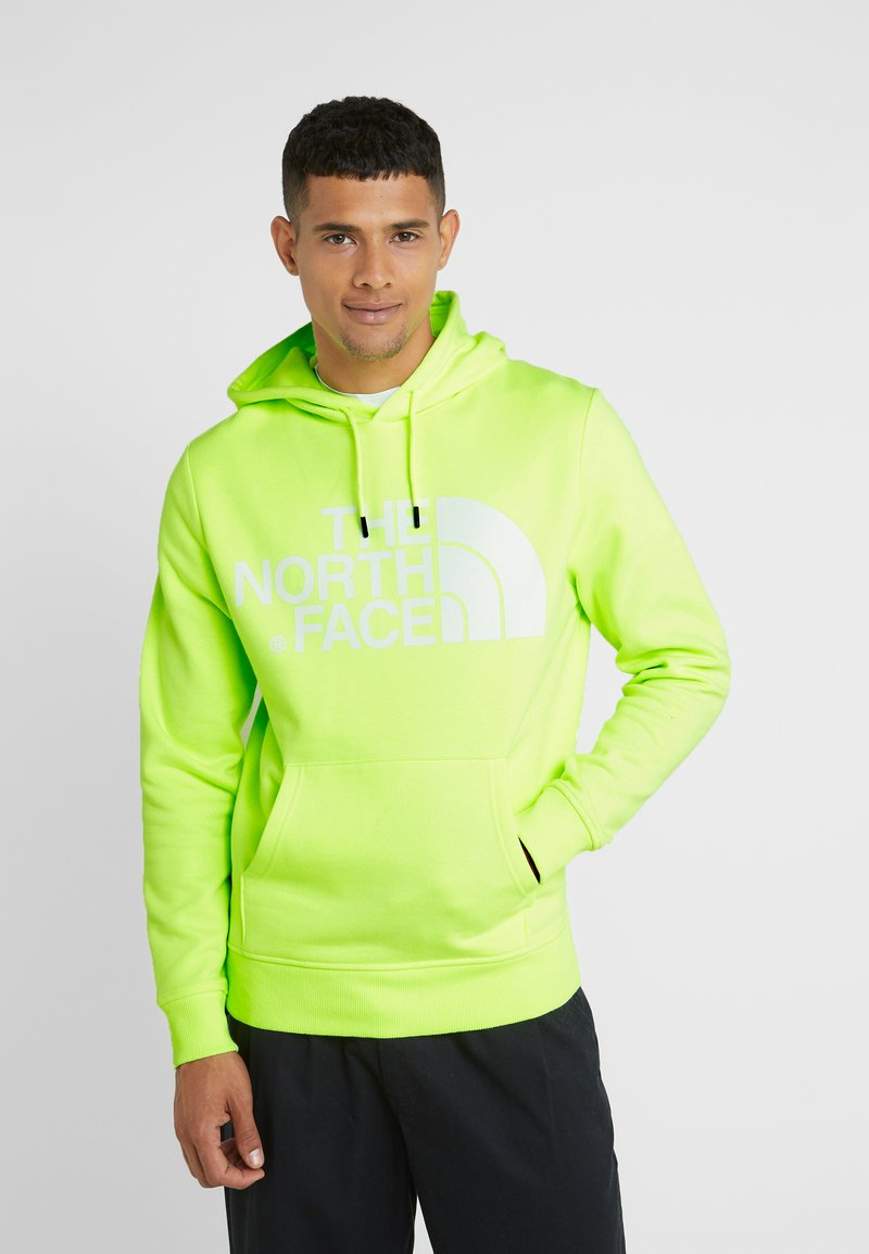 The North Face - STANDARD HOODIE - Jersey con capucha - bright yellow