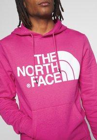 The North Face - STANDARD HOODIE - Mikina skapucí - mr. pink - 4