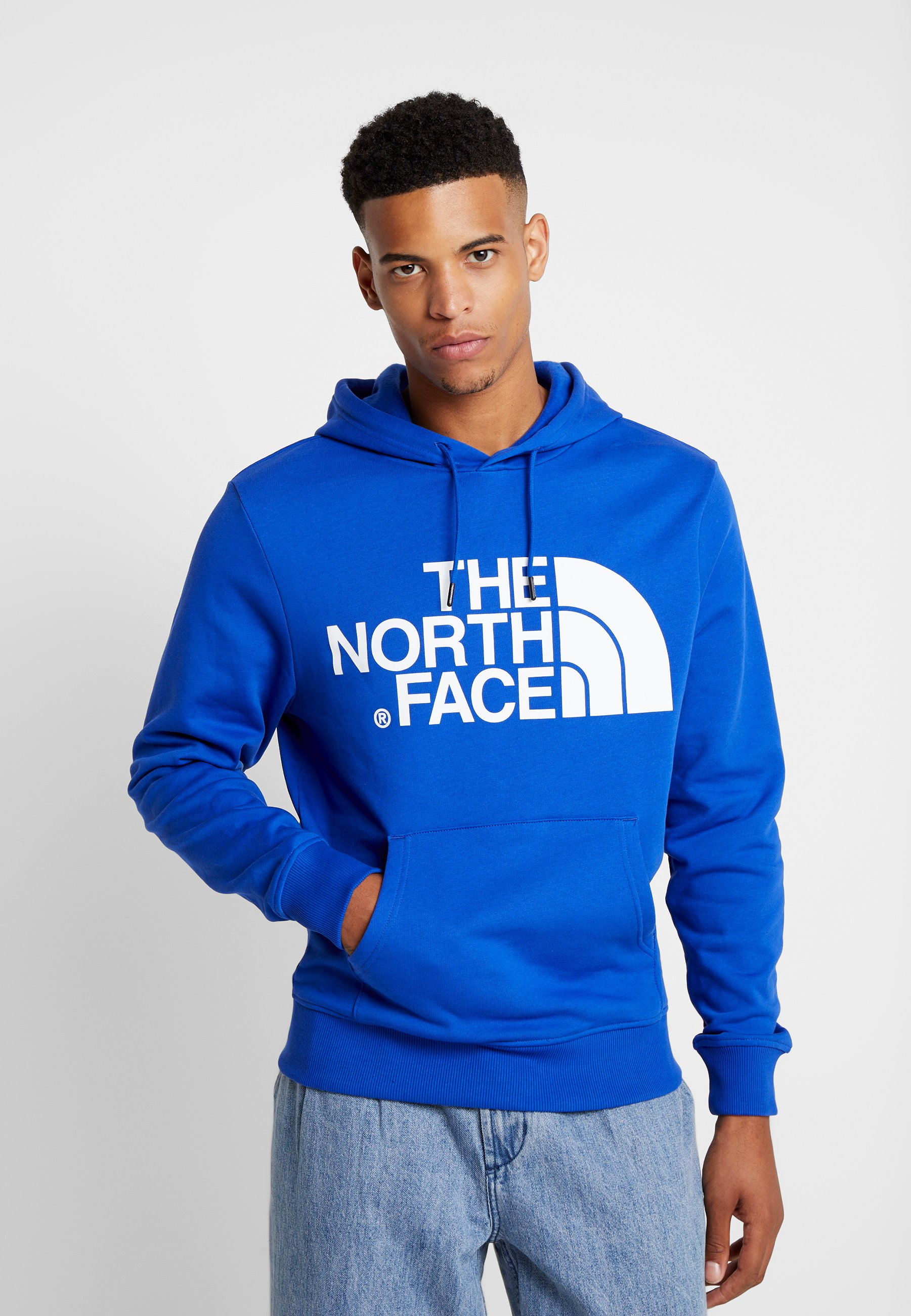 North Blue À Capuche The Face Standard HoodieSweat 5Rj4AL