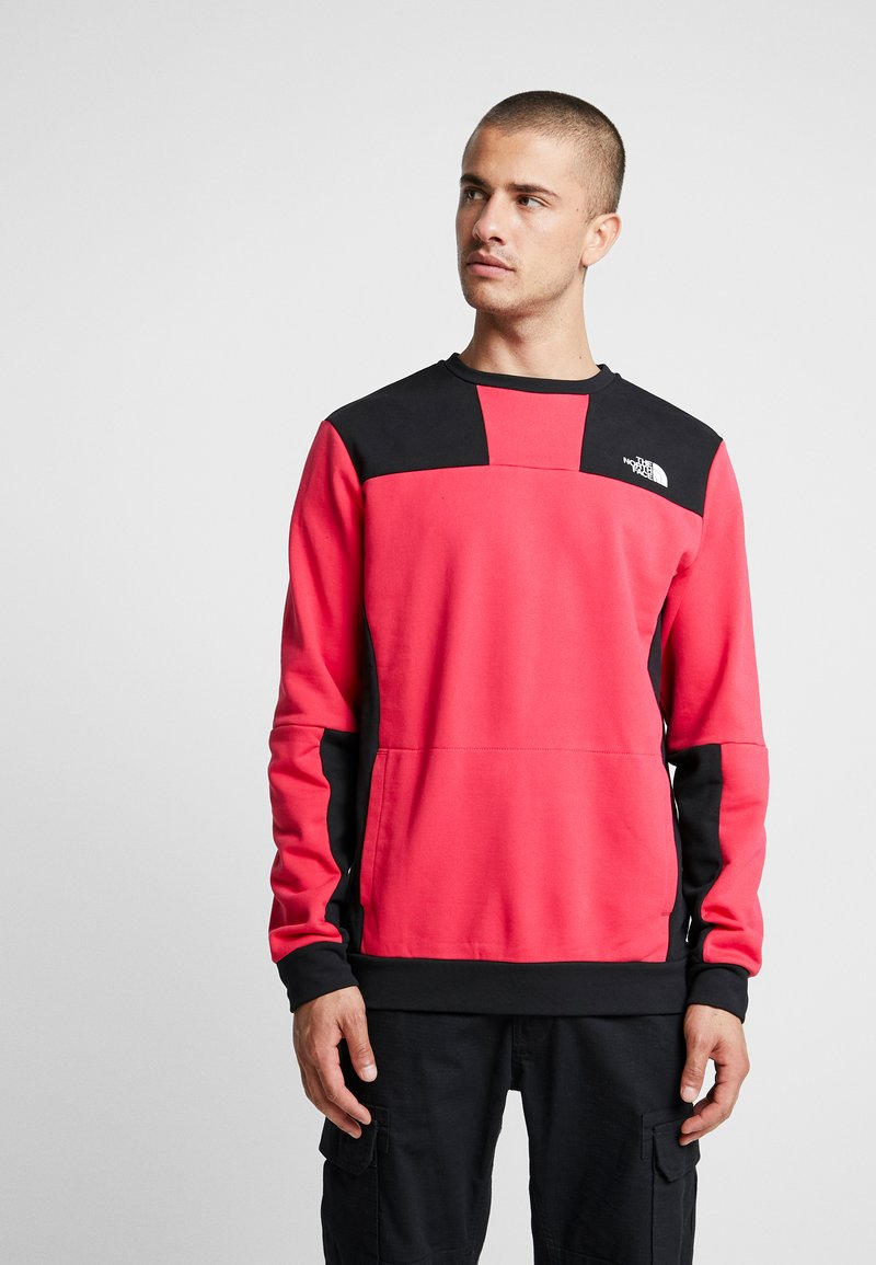 The North Face - RAGE GRAPHIC CREW - Sweatshirt - rose red