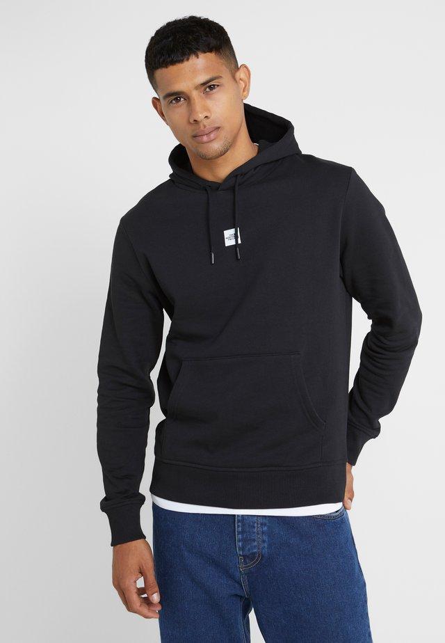 GRAPHIC HOOD - Jersey con capucha - black