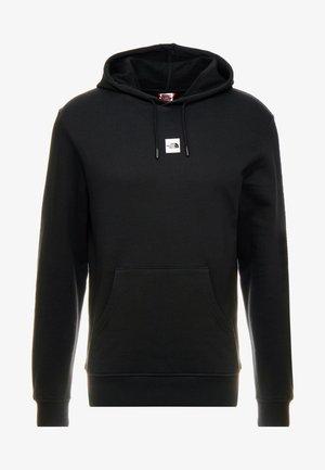 GRAPHIC HOOD - Bluza z kapturem - black