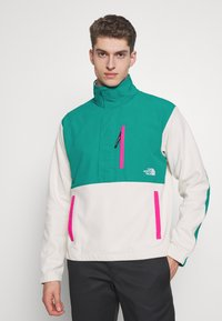 The North Face - GRAPHIC COLLECTION - Sweatshirt - vintage white/fanfare green/mr. pink - 0