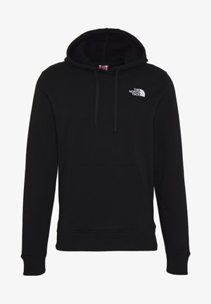 GRAPHIC HOODIE - Mikina s kapucí - tnf black/tnf white