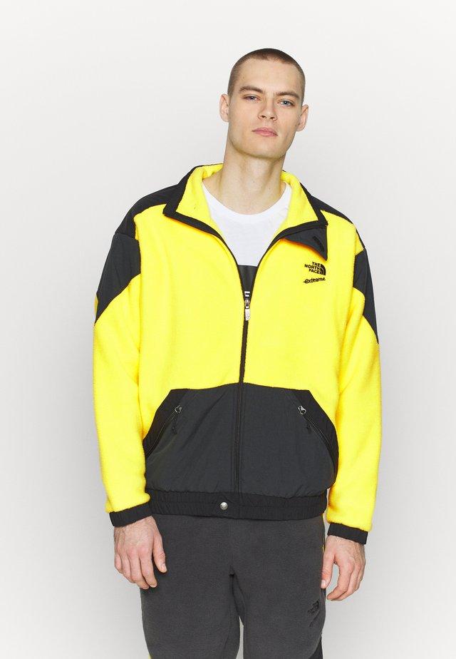 EXTREME JACKET - Forro polar - tnf lemon combo