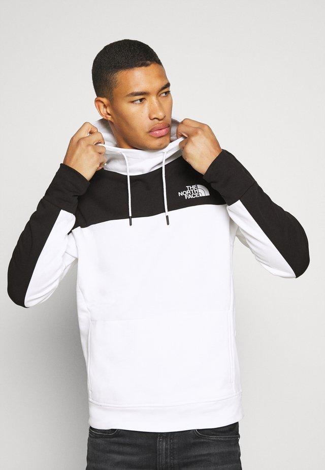 HOODIE - Jersey con capucha - white/black
