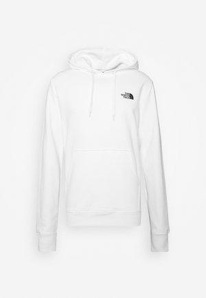 GEODOME HOODIE  - Bluza z kapturem - white