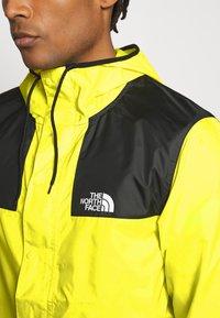 The North Face - SEASONAL MOUNTAIN JACKET  - Summer jacket - lemon - 4