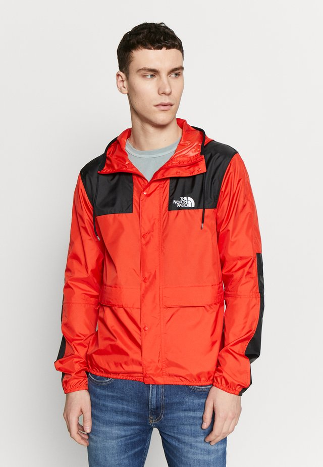 SEASONAL MOUNTAIN JACKET  - Chaqueta fina - fiery red/black