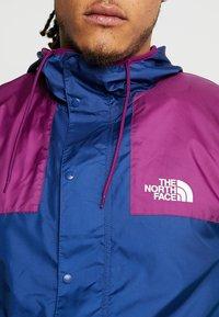 The North Face - MOUNTAIN SEASONAL CELEBRATION - Kurtka wiosenna - premiere purple/midline blue/bastille green - 5