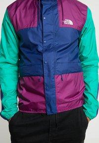 The North Face - MOUNTAIN SEASONAL CELEBRATION - Kurtka wiosenna - premiere purple/midline blue/bastille green - 3