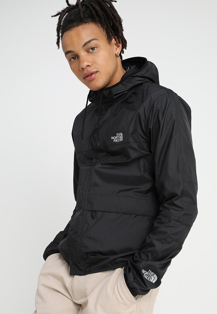 The North Face - MOUNTAIN SEASONAL CELEBRATION - Summer jacket - black/high rise grey