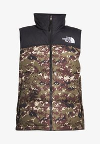 The North Face - 1996 RETRO NUPTSE VEST - Bodywarmer - olive - 6