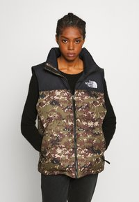 The North Face - 1996 RETRO NUPTSE VEST - Bodywarmer - olive - 3