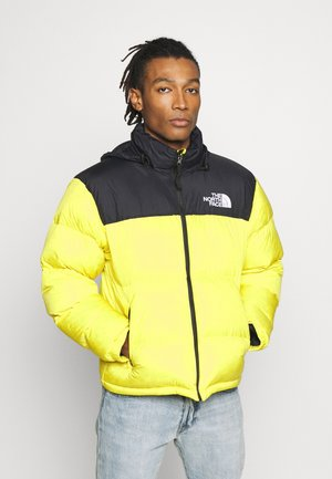 1996 RETRO NUPTSE JACKET - Dunjakke - lemon
