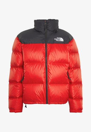 1996 RETRO NUPTSE JACKET - Chaqueta de plumas - fiery red