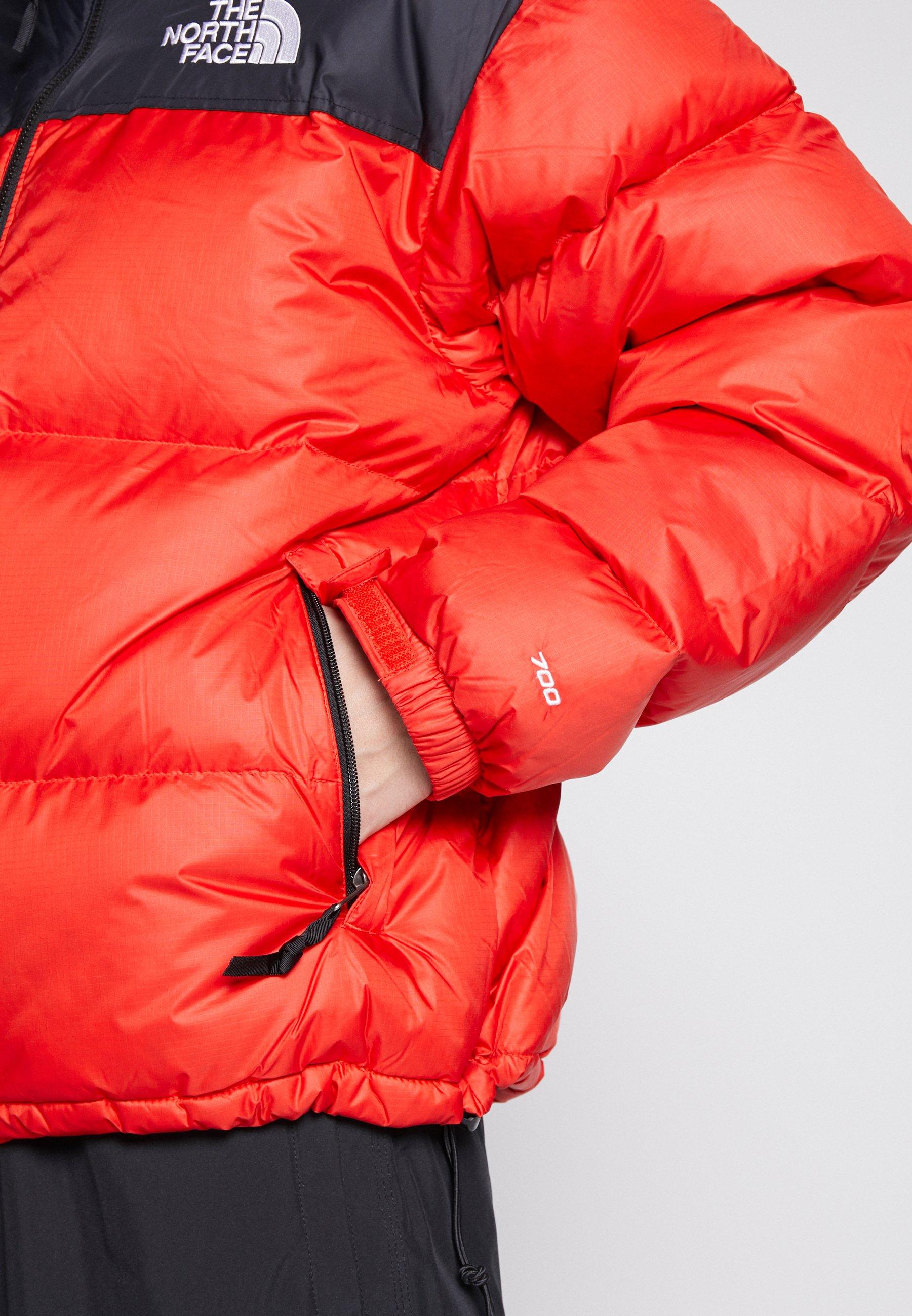 The North Face 1996 RETRO NUPTSE JACKET - Kurtka puchowa - fiery red