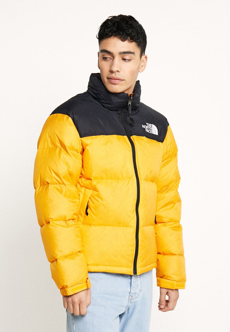 The North Face - RETRO NUPTSE JACKET - Down jacket - zinnia orange