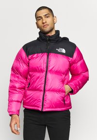 The North Face - 1996 RETRO NUPTSE JACKET - Piumino - pink - 0