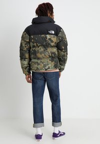 The North Face - 1996 RETRO NUPTSE JACKET - Untuvatakki - new taupe green macrofleck print - 2